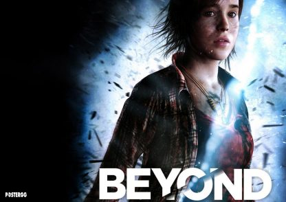 beyond two souls poster