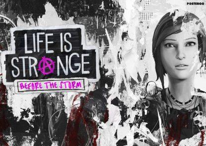 life is strange poster tasarımları