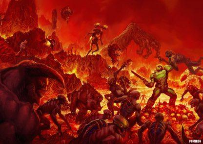 Doom Poster Tasarımları