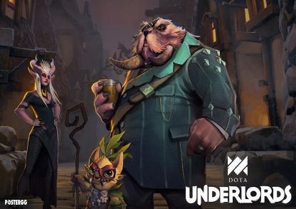 Dota underlords poster
