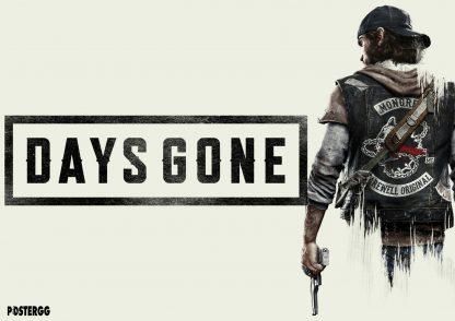 days gone poster çeşitleri