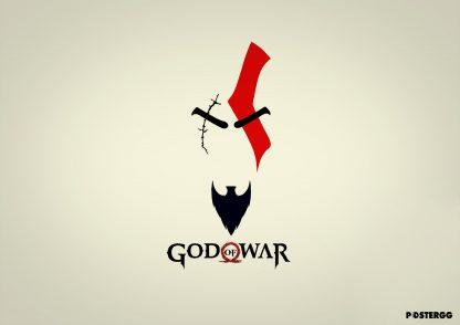 god of war poster tasarımları