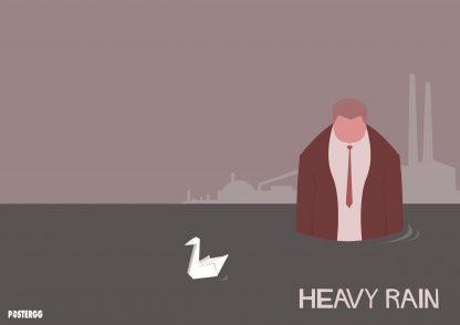 heavy rain poster çeşitleri