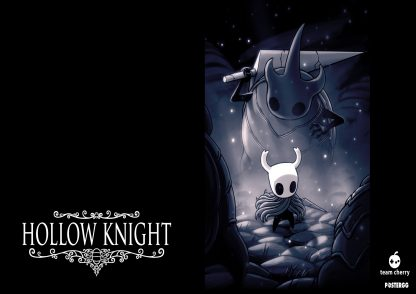 hollow knight poster tasarımları