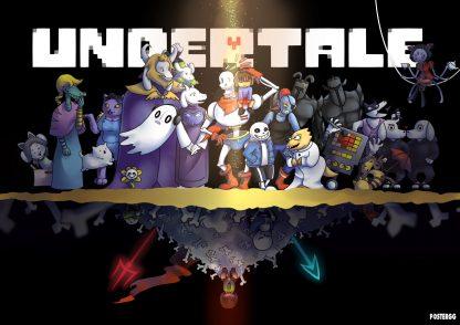 undertale poster tasarımları 2