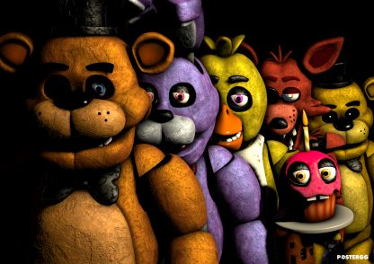 five night at freddy's poster