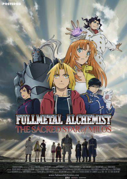 full metal alchemist poster 3