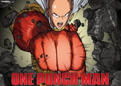 one punch man poster 3