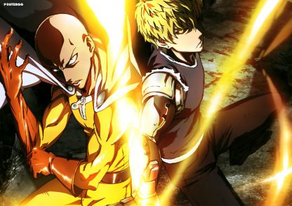 one punch man poster 4